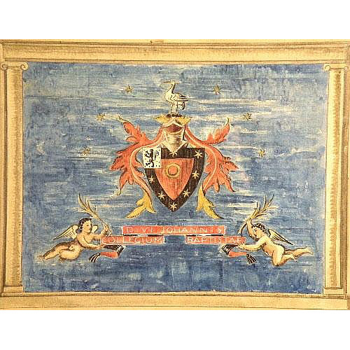 Sir Edward Maufe design for a carpet for St John's College Oxford