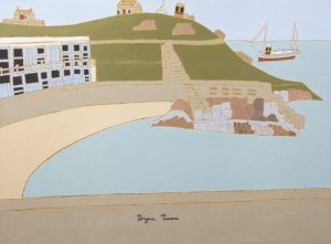 Bryan Pearce View of St Ives - Porthgwidden Bay
