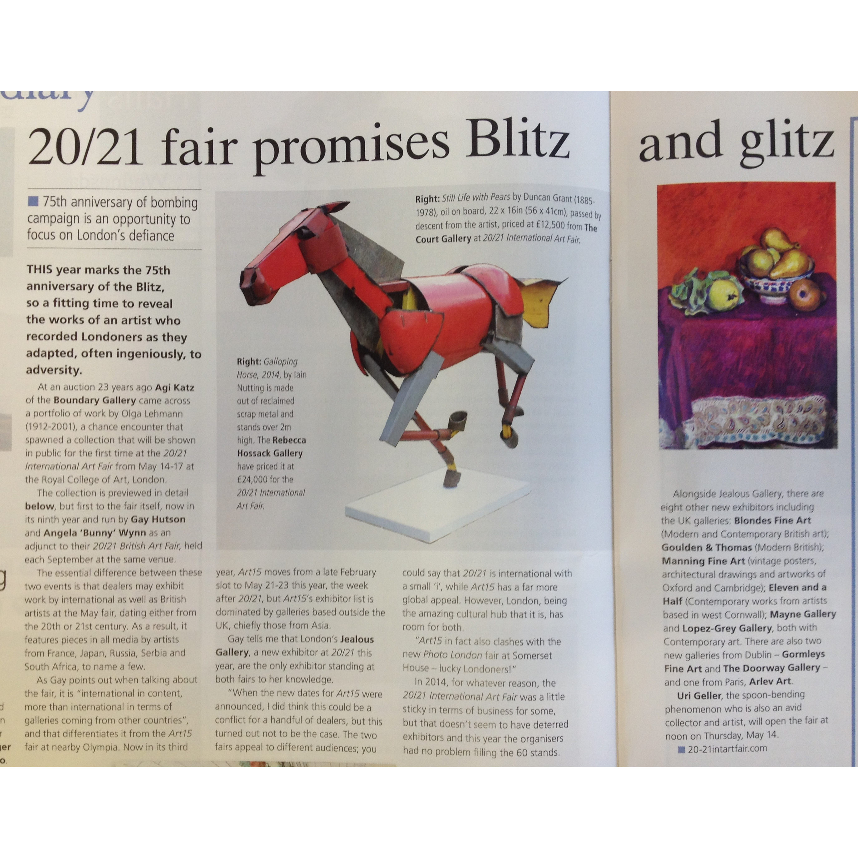 Antiques Trade Gazette 9.5.15