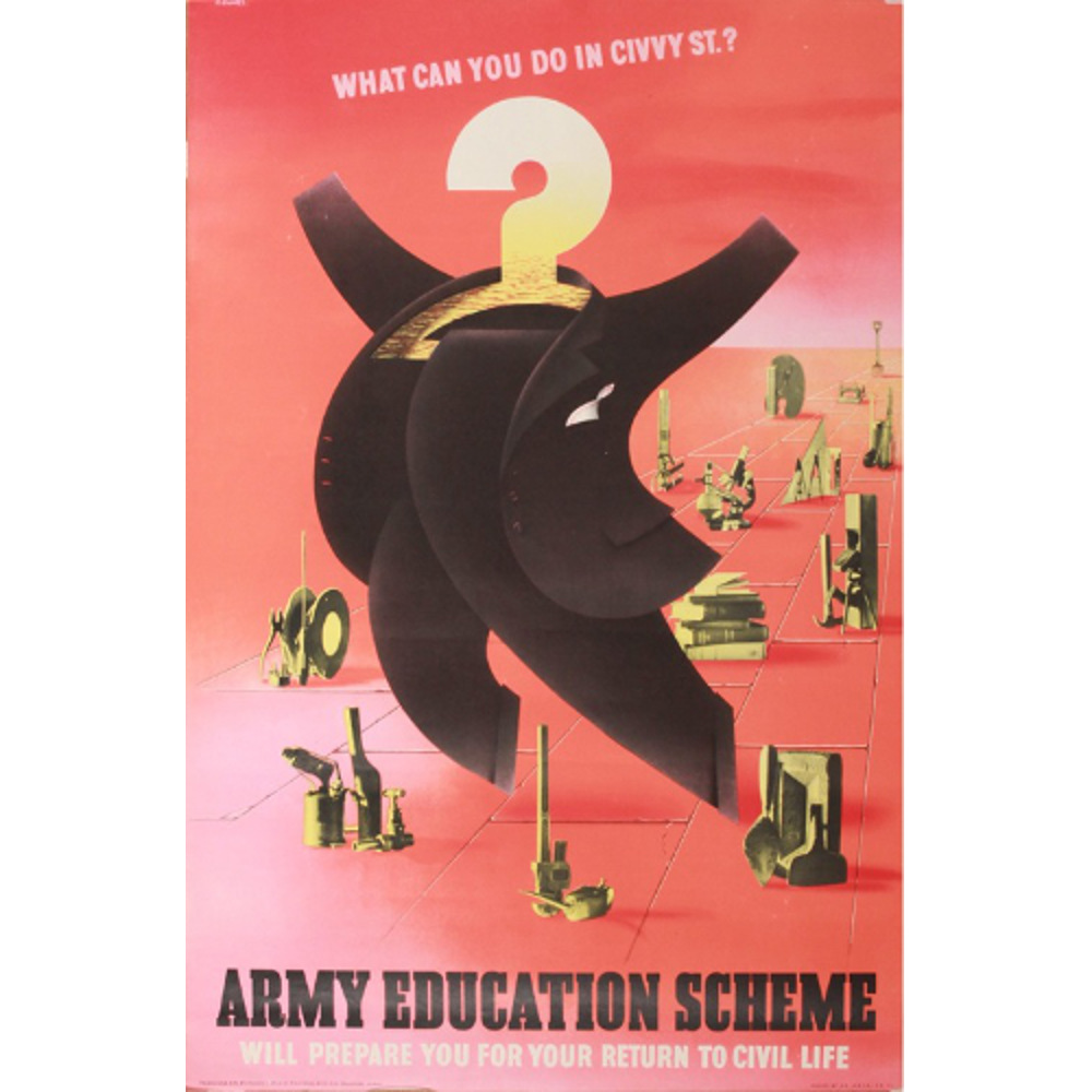 Abram Games What can you do in civvy street