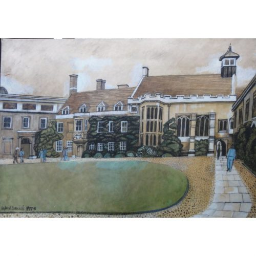 Alfred Daniels Christ's College Cambridge