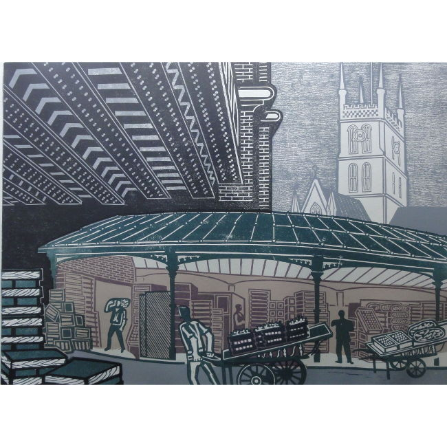 Edward Bawden Borough Market