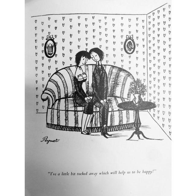 R. Peynet, I've a little bit tucked away to help us be happy!
