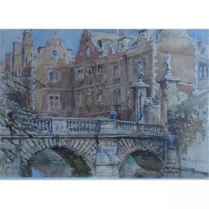 John Fulleylove Kitchen Bridge St John's Cambridge