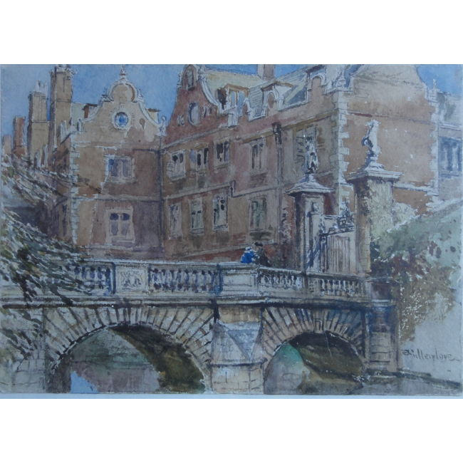 John Fulleylove Kitchen Bridge St John's Cambridge