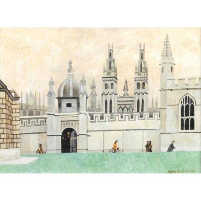 Alfred Daniels All Souls Oxford