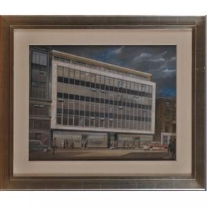 John Dean Monroe Harvey Modernist Building
