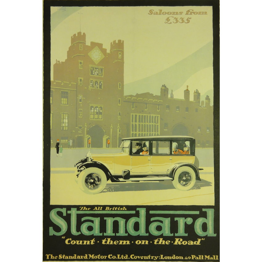 Austin Cooper All British Standard Car Saloons