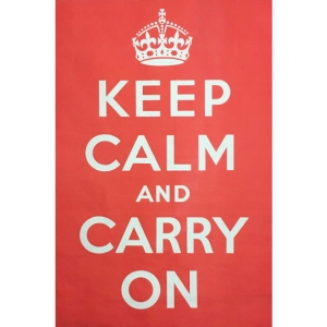 Keep Calm and Carry on original vintage poster