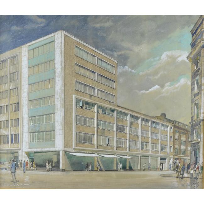 John Dean Monroe Harvey design for Great Marlborough Street for sale