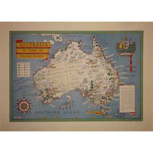 Macdonald (Max) Gill Australia poster for sale