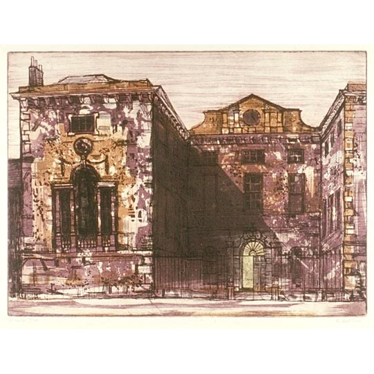 Richard Beer Worcester College Oxford print for sale