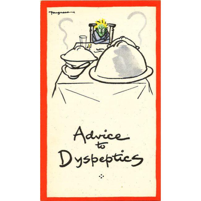 Fougasse Advice to Dyspeptics