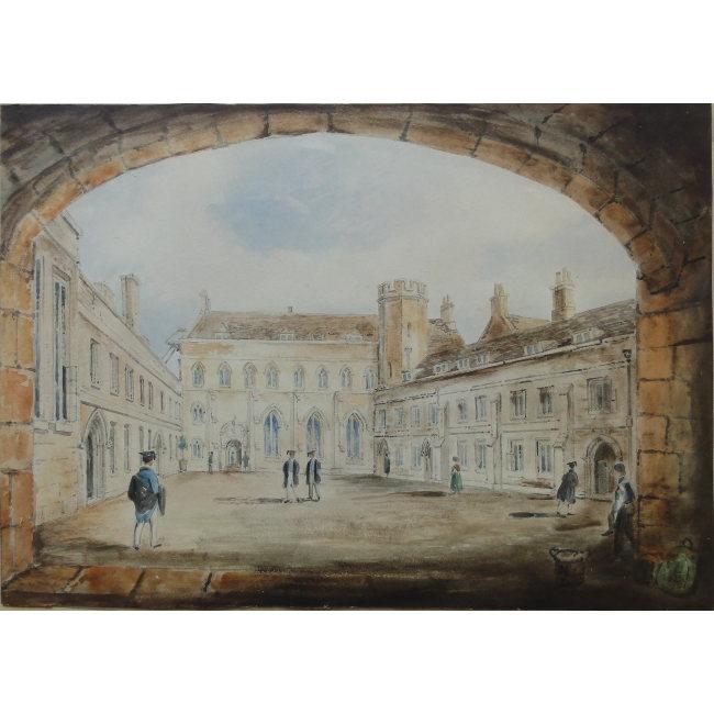Richard Bankes Harraden Pembroke College Cambridge watercolour