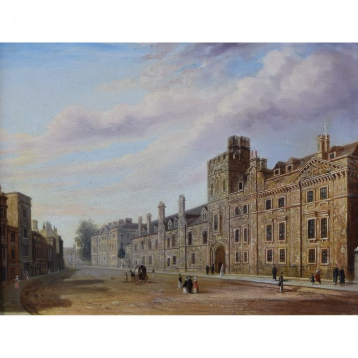 Joseph Murray Ince Balliol College Oxford oil painting for sale