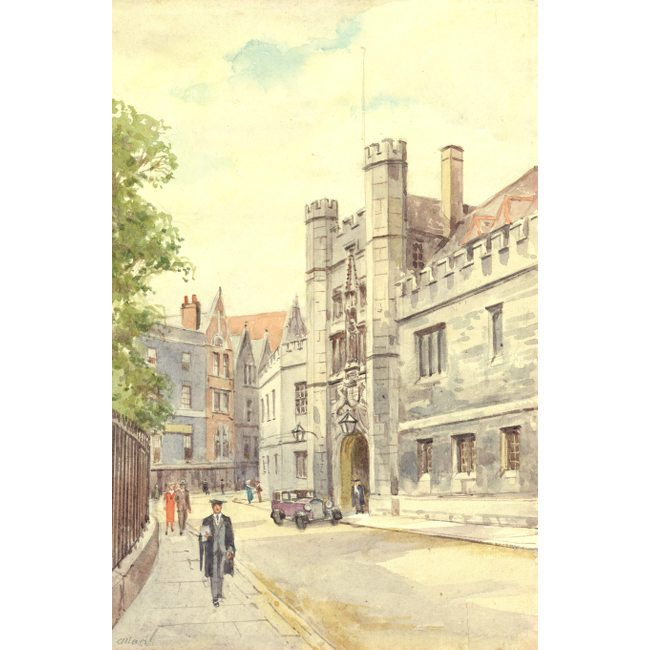 Allan Great Gate Christ's College Cambridge