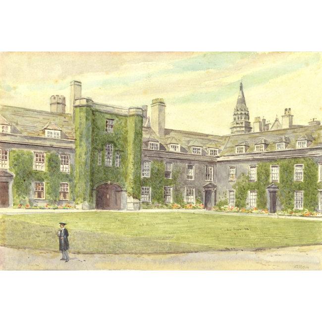Allan First Court Christ's College Cambridge