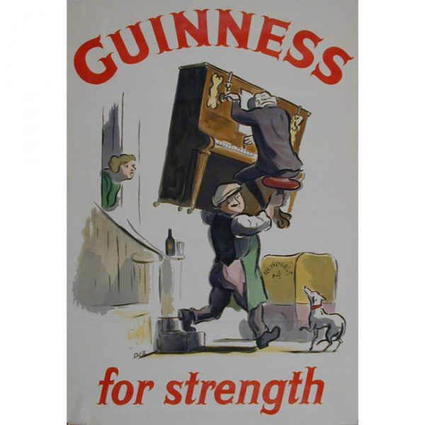 Ardizzone Guinness for Strength poster for sale