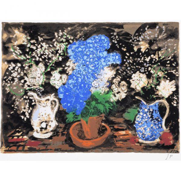 John Piper Blue Hydrangea