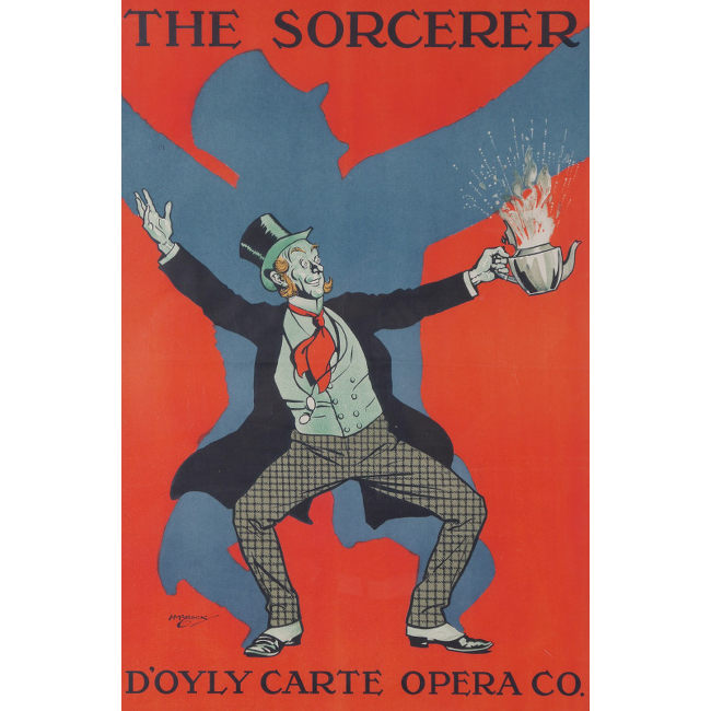 H.M.Brock The Sorcerer, D'Oyly Carte Opera Co.