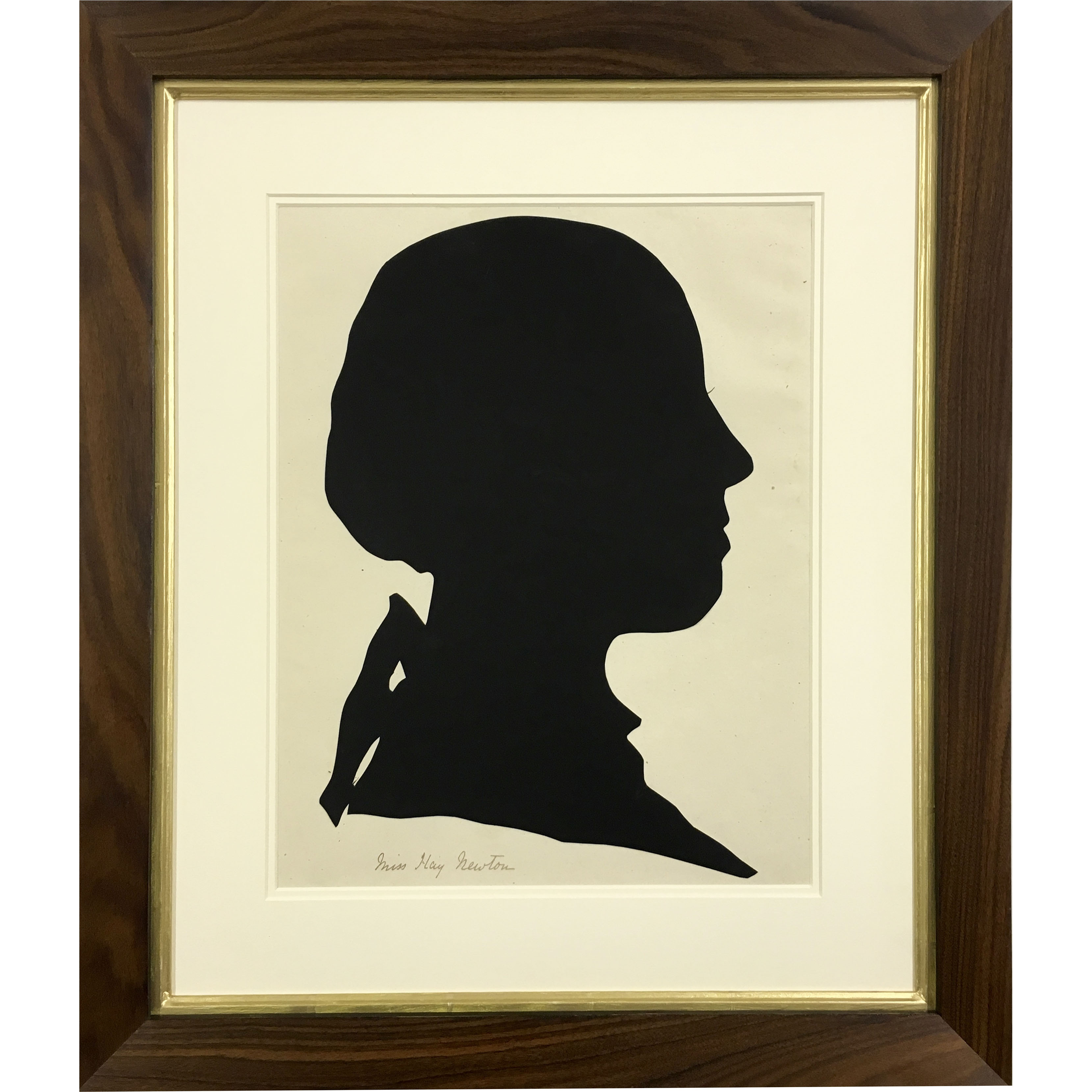 Miss Hay Newton Silhouette
