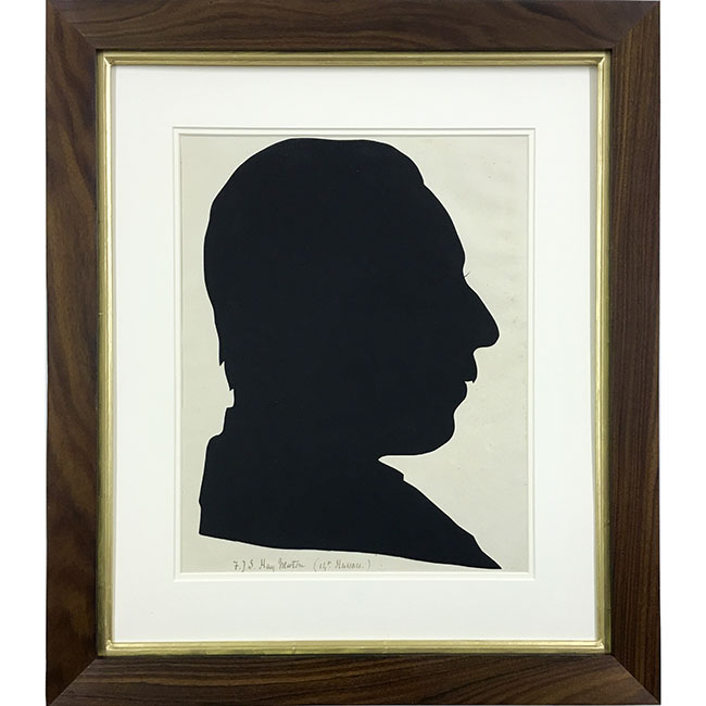 David Barclay Chapman Silhouette