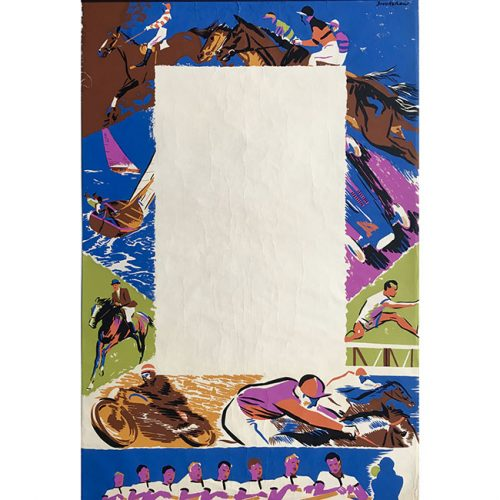 Percy Drake Brookshaw The Season Coach Poster