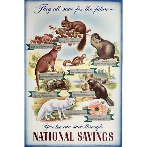 National Savings Poster