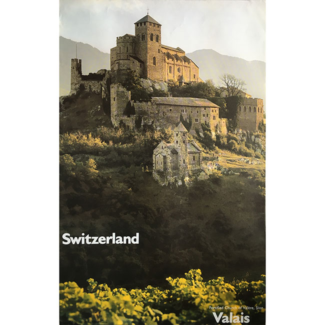 Valais Switzerland Rarogne Poster for sale