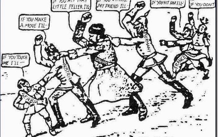 chain-of-friendship-cartoon-ww1