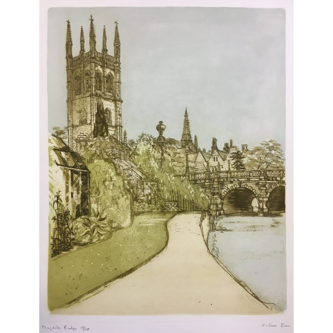 Richard Beer Magdalen Bridge Oxford