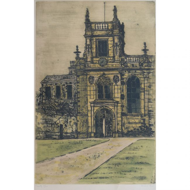 Richard Beer Trinity College Oxford limited edition print