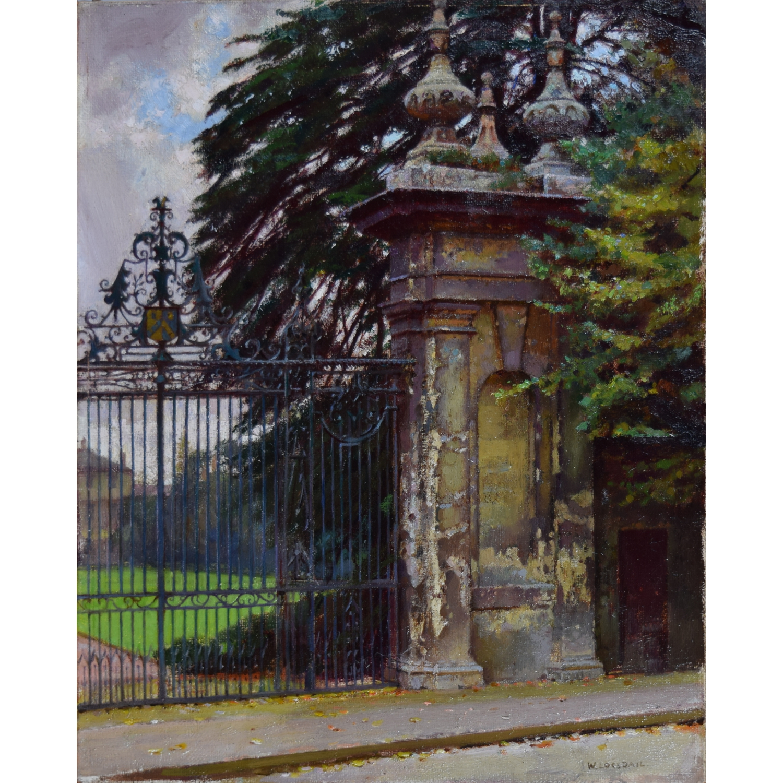 William Logsdail Trinity College Gateway