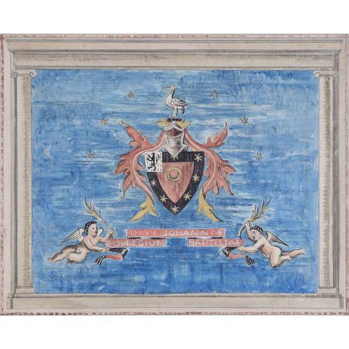 Edward Maufe Carpet Design St John's College Oxford