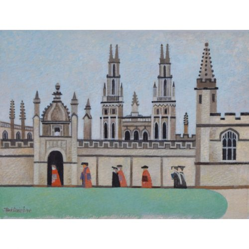 Alfred Daniels All Souls College Oxford II