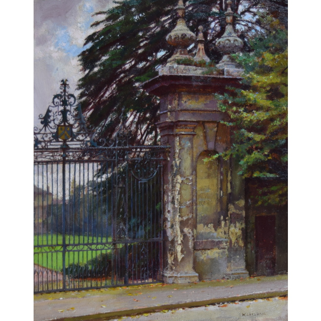 William Logsdail Trinity College Oxford oil painting for sale