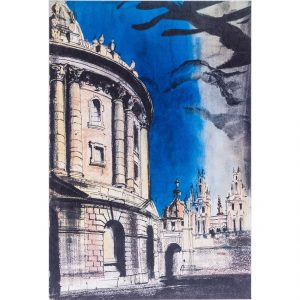 John Piper Radcliffe Camera lithograph