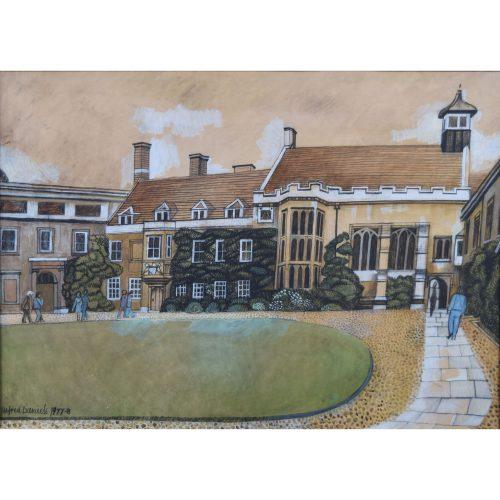 Alfred Daniels Christ's College CambridgeAlfred Daniels Christ's College Cambridge
