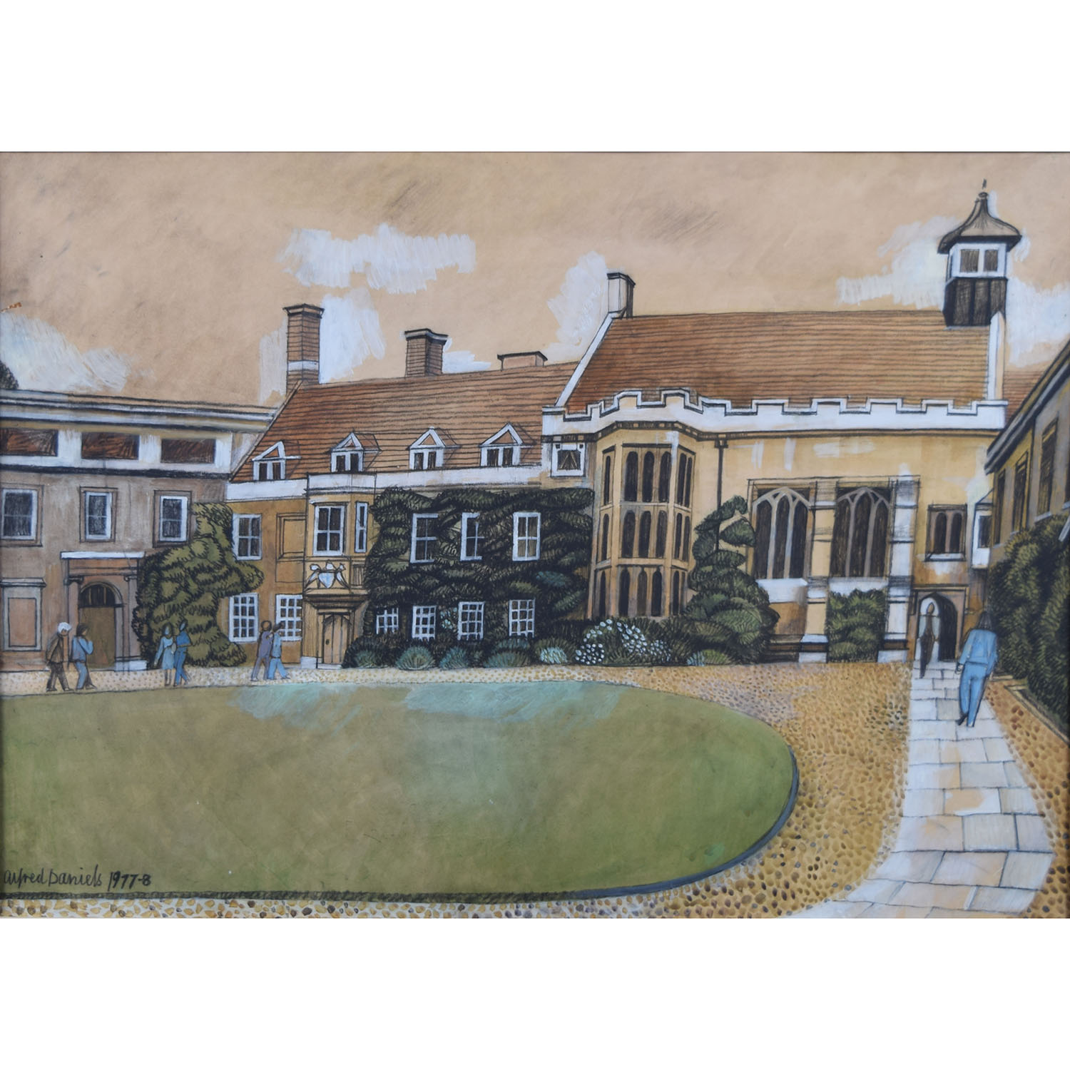 Alfred Daniels Christ's College CambridgeAlfred Daniels Christ's College Cambridge