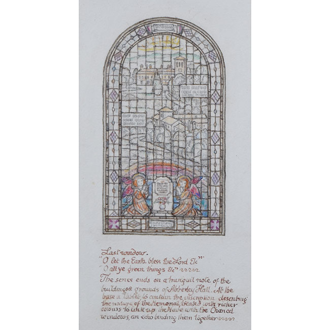 Reginald Hallward Stain Glass Window