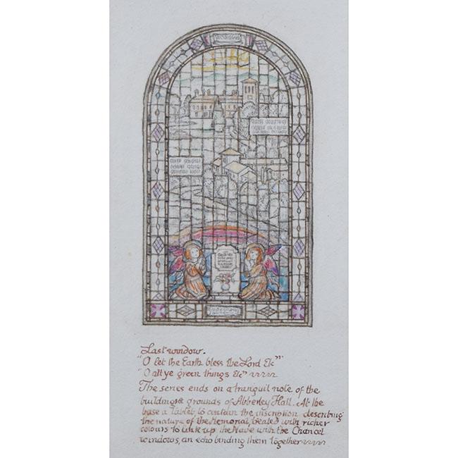 Reginald Hallward Stain Glass Window