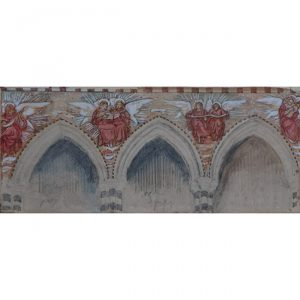 Reginald Hallward Wall Painting Design