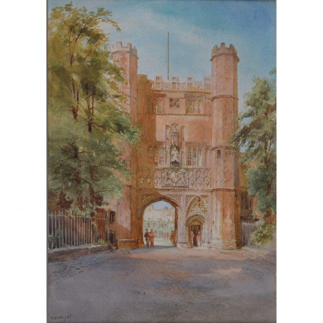 Richard Henry Wright Trinity Great Gate, Cambridge