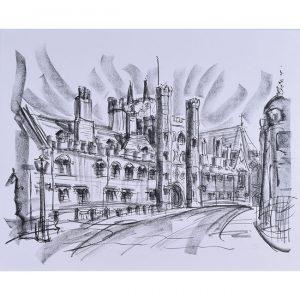 Tony Broderick St John's Great Gate Cambridge