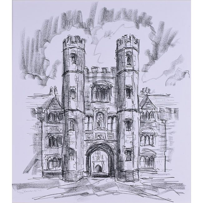 Tony Broderick Shrewsbury Tower St. John's College Cambridge
