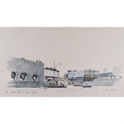 Hugh Casson The Boat Stage and Sports Centre, Bristol