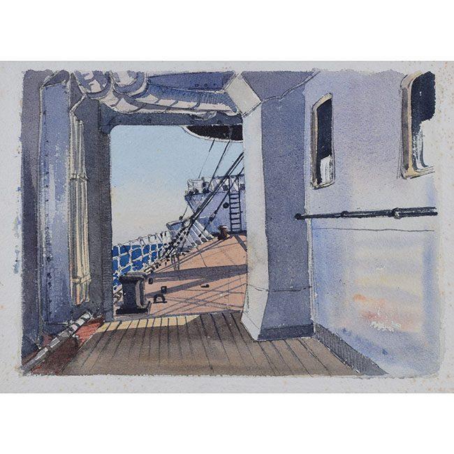 Claude Muncaster Port Alleyway, City of New York, August 1948