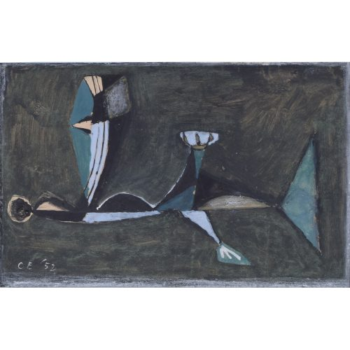 Clifford Ellis Coming of the Ice Age II watercolour 1952