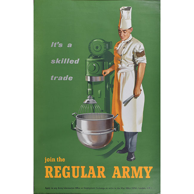 Regular Army recruitment poster