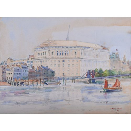 Walter Taylor Lambeth Bridge
